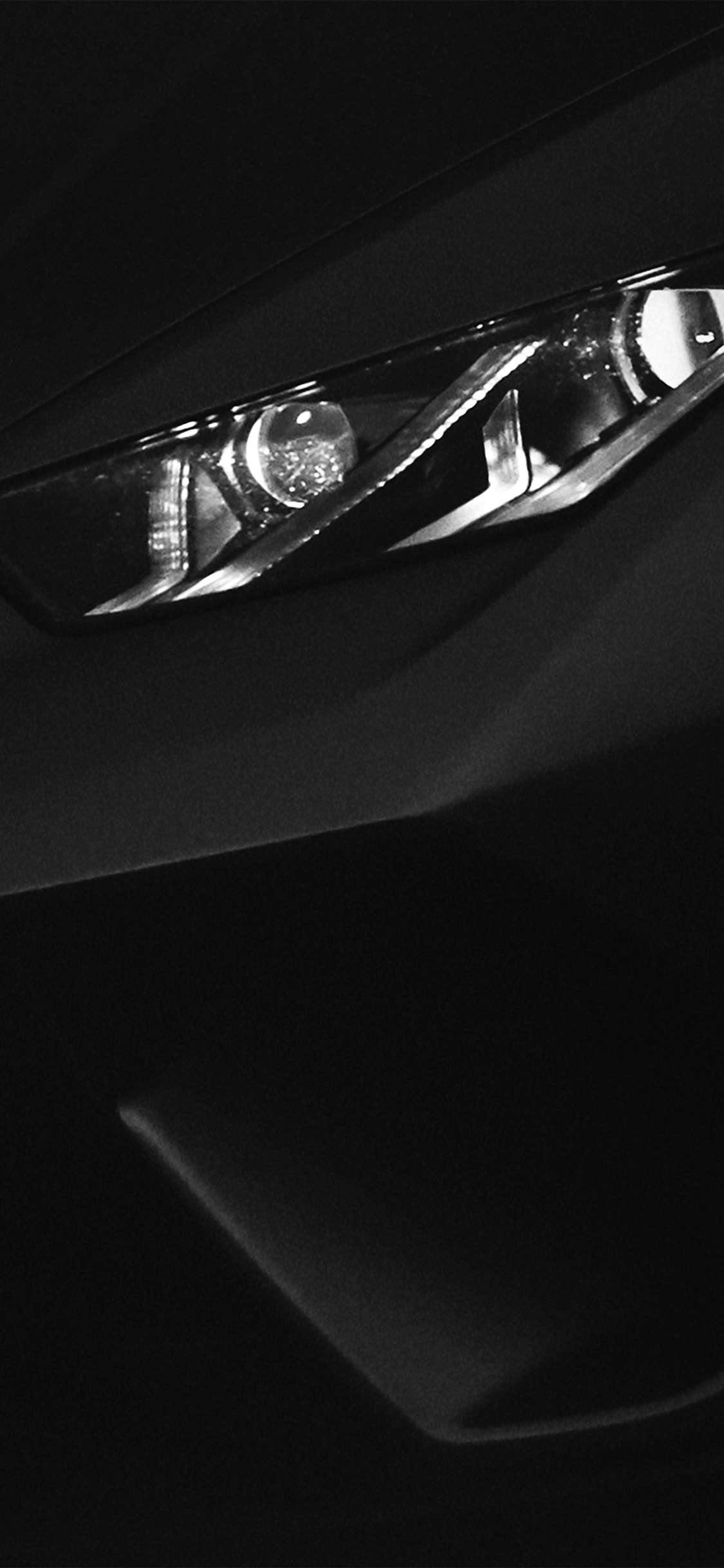 iPhonexpapers.com-Apple-iPhone-wallpaper-bf17-car-lamborghini-light-dark-minimal-simple-art-bw