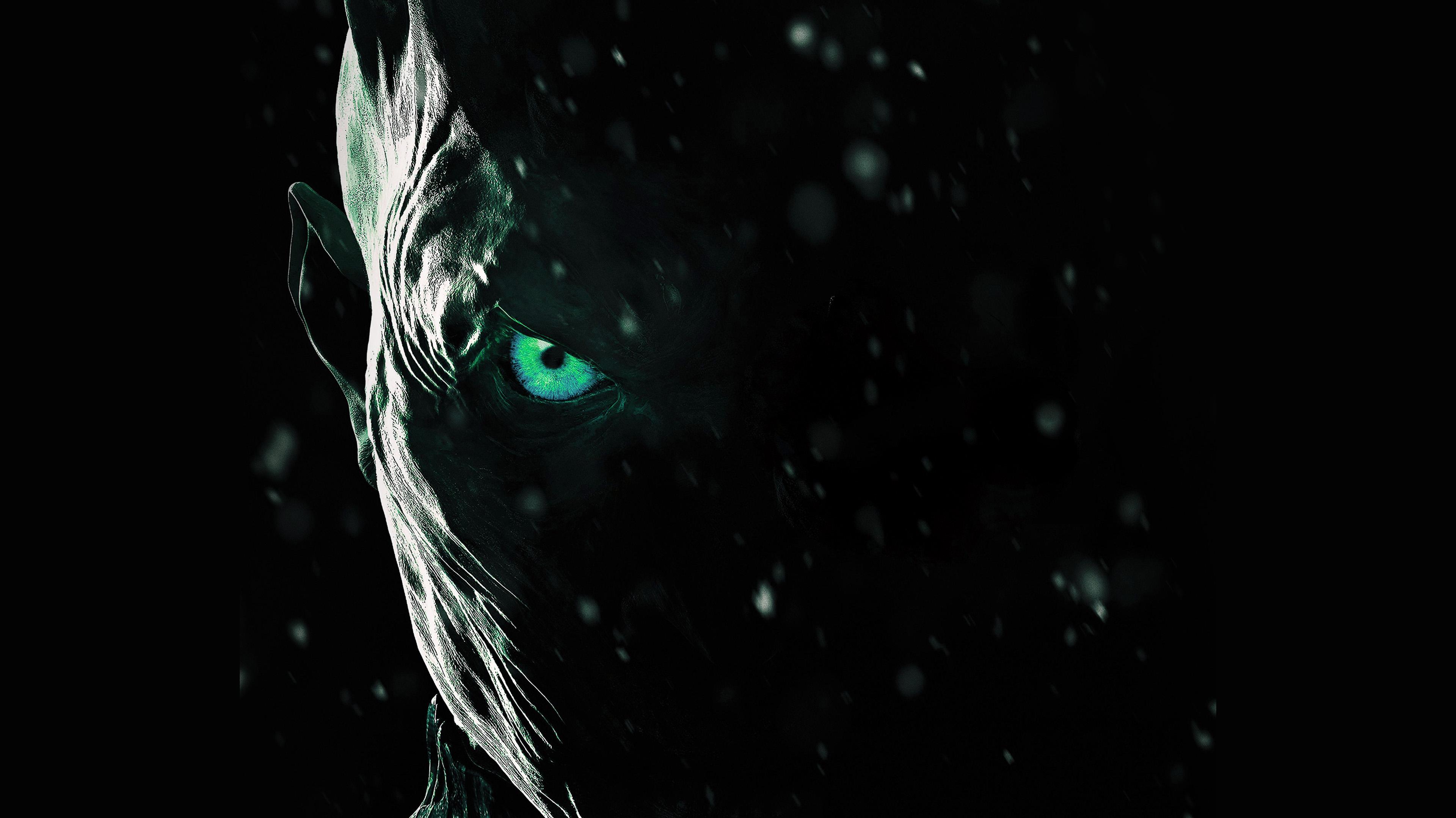 Bf23 Horror Scary Face Dark Anime Eye Art Wallpaper