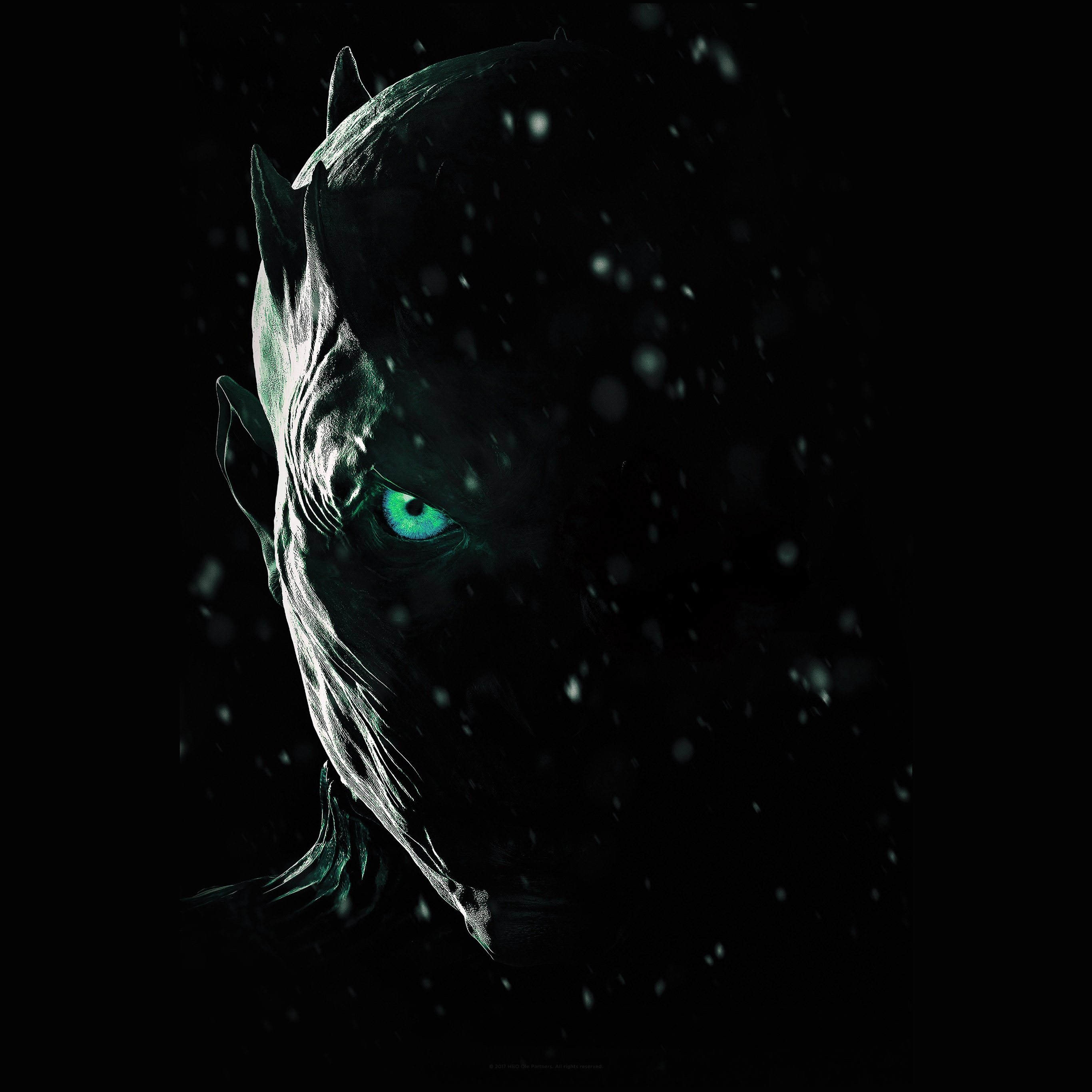 Bf23 Horror Scary Face Dark Anime Eye Art Wallpaper