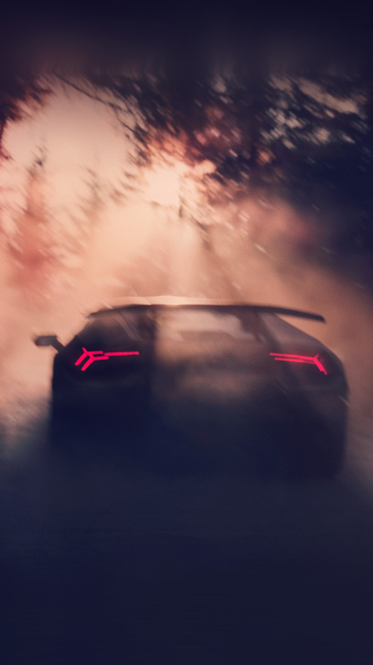 Papers.co-iPhone5-iphone6-plus-wallpaper-bf25-car-lamborghini-dark-street-drive-art-road
