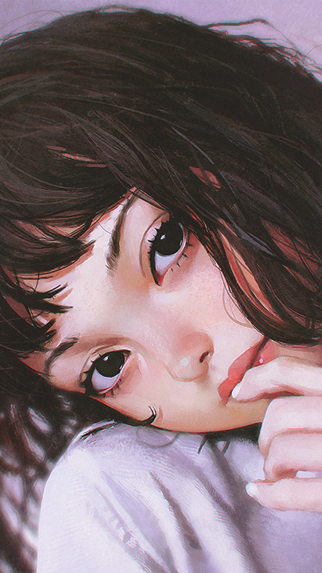 freeios8.com-iphone-4-5-6-plus-ipad-ios8-bf31-ilya-face-anime-girl-art