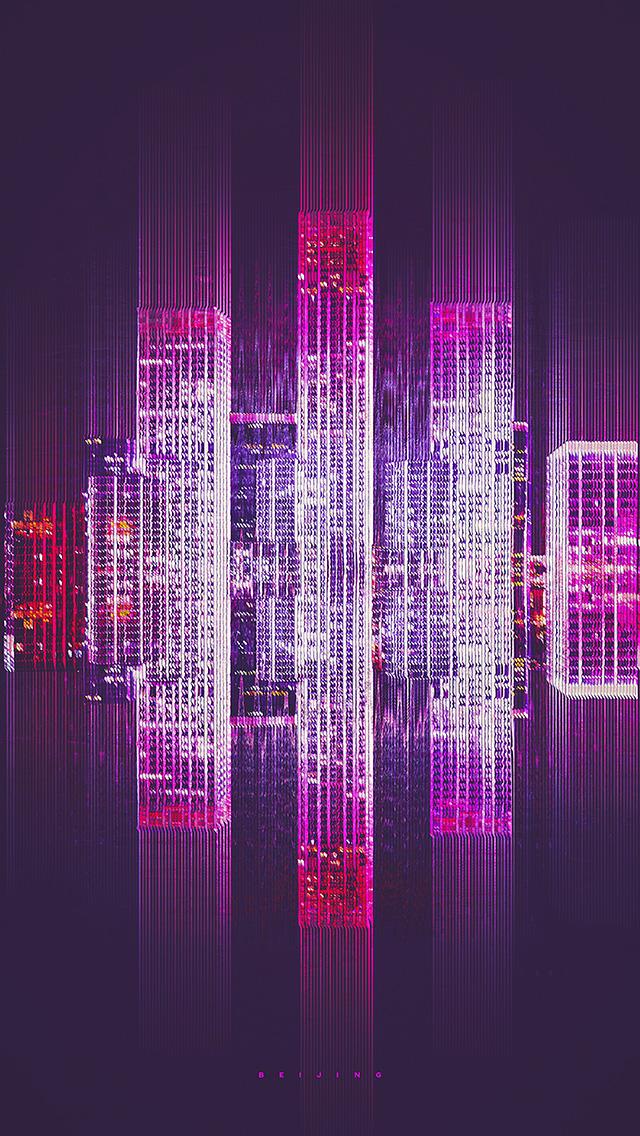 freeios8.com-iphone-4-5-6-plus-ipad-ios8-bf40-city-art-purple-art-simple-minimal