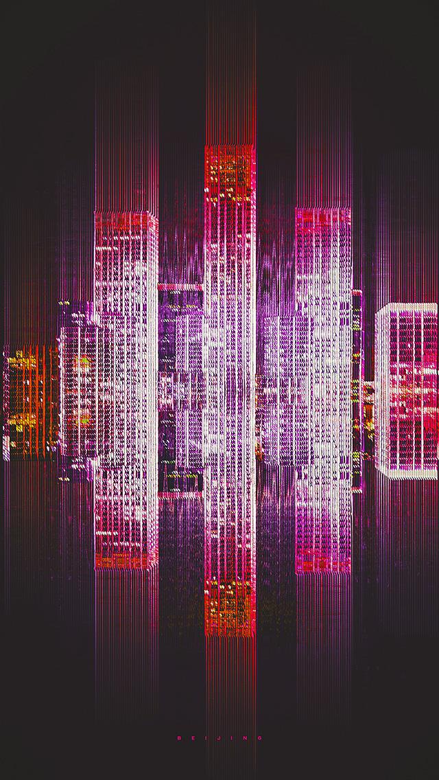 freeios8.com-iphone-4-5-6-plus-ipad-ios8-bf41-city-art-purple-art-simple-minimal-red