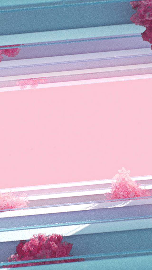 freeios8.com-iphone-4-5-6-plus-ipad-ios8-bf43-architecture-minimal-simple-flower-pink-art