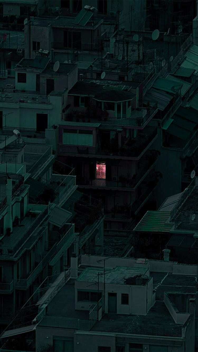 iPhone7papers.com-Apple-iPhone7-iphone7plus-wallpaper-bf46-minimal-dark-architecture-art-green
