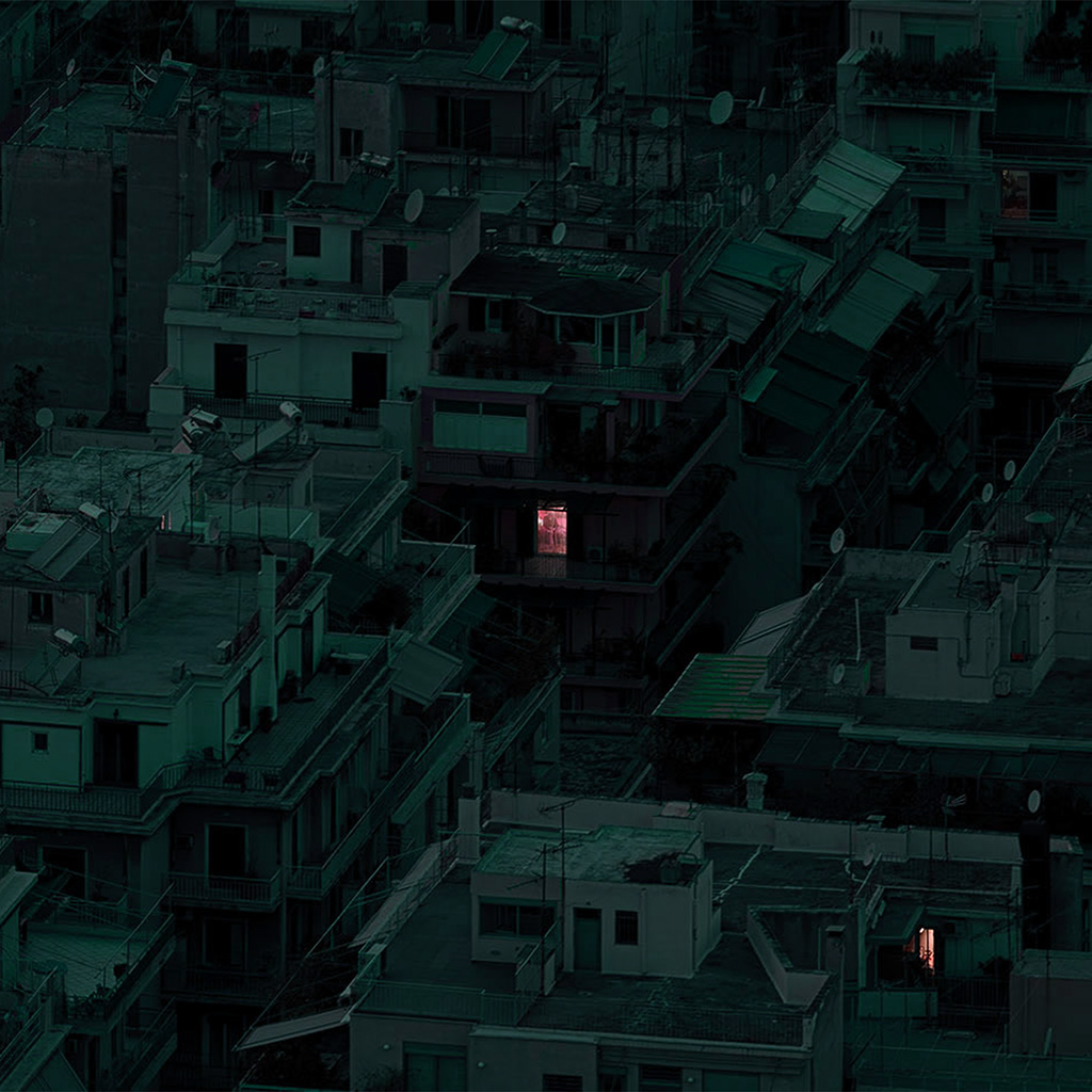 android-wallpaper-bf46-minimal-dark-architecture-art-green-wallpaper
