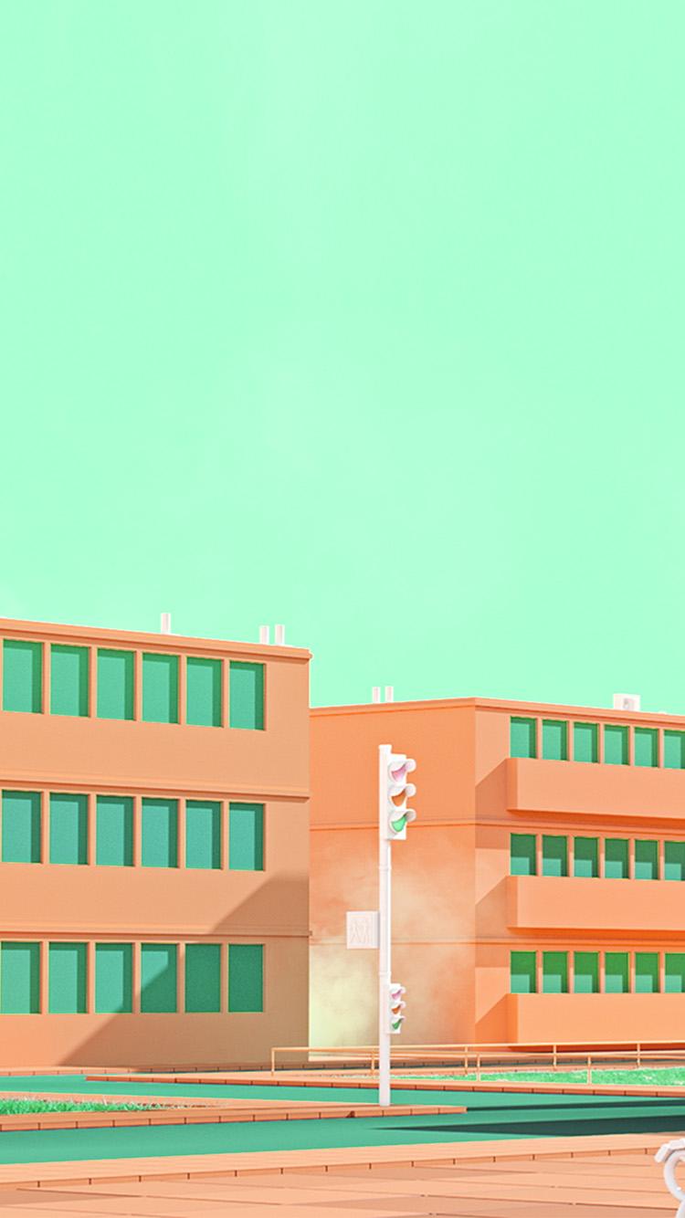 iPhone7papers.com-Apple-iPhone7-iphone7plus-wallpaper-bf55-school-anime-illust-orange-minimal-simple-art