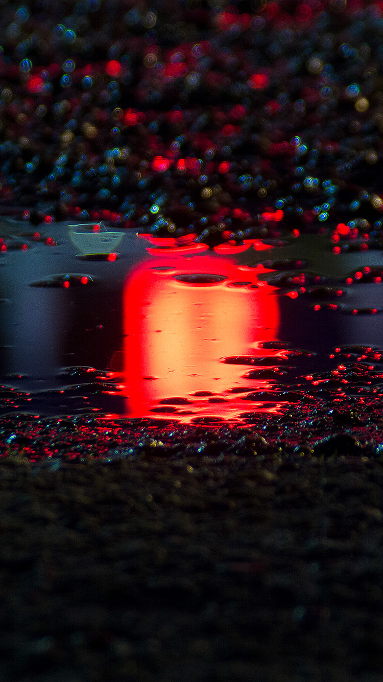 iPhone6papers.co-Apple-iPhone-6-iphone6-plus-wallpaper-bf60-rain-red-bokeh-water-asphalt-art-light