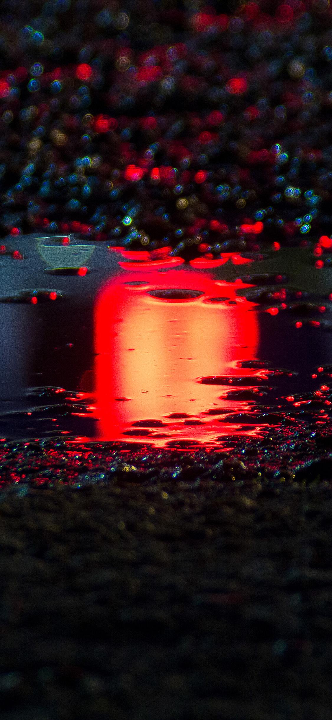 iPhonexpapers.com-Apple-iPhone-wallpaper-bf60-rain-red-bokeh-water-asphalt-art-light
