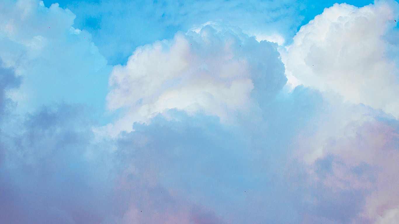 Wallpaper For Desktop Laptop Bf69 Sky Cloud Blue Metamorphosis Art