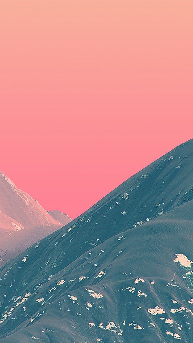 freeios8.com-iphone-4-5-6-plus-ipad-ios8-bf71-mountain-pink-nature-art