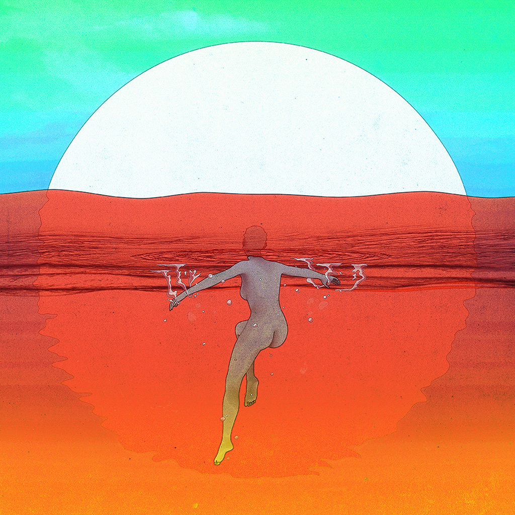 android-wallpaper-bf82-red-green-sea-sun-illustration-girl-swim-art-anime-wallpaper