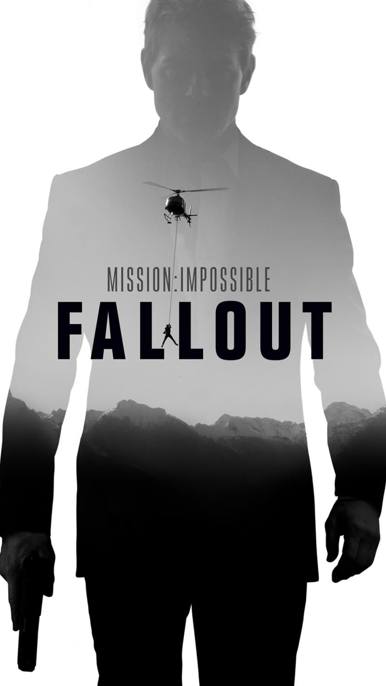 i love papers | bf91-mission-impossible-film-fallout-poster-art-bw