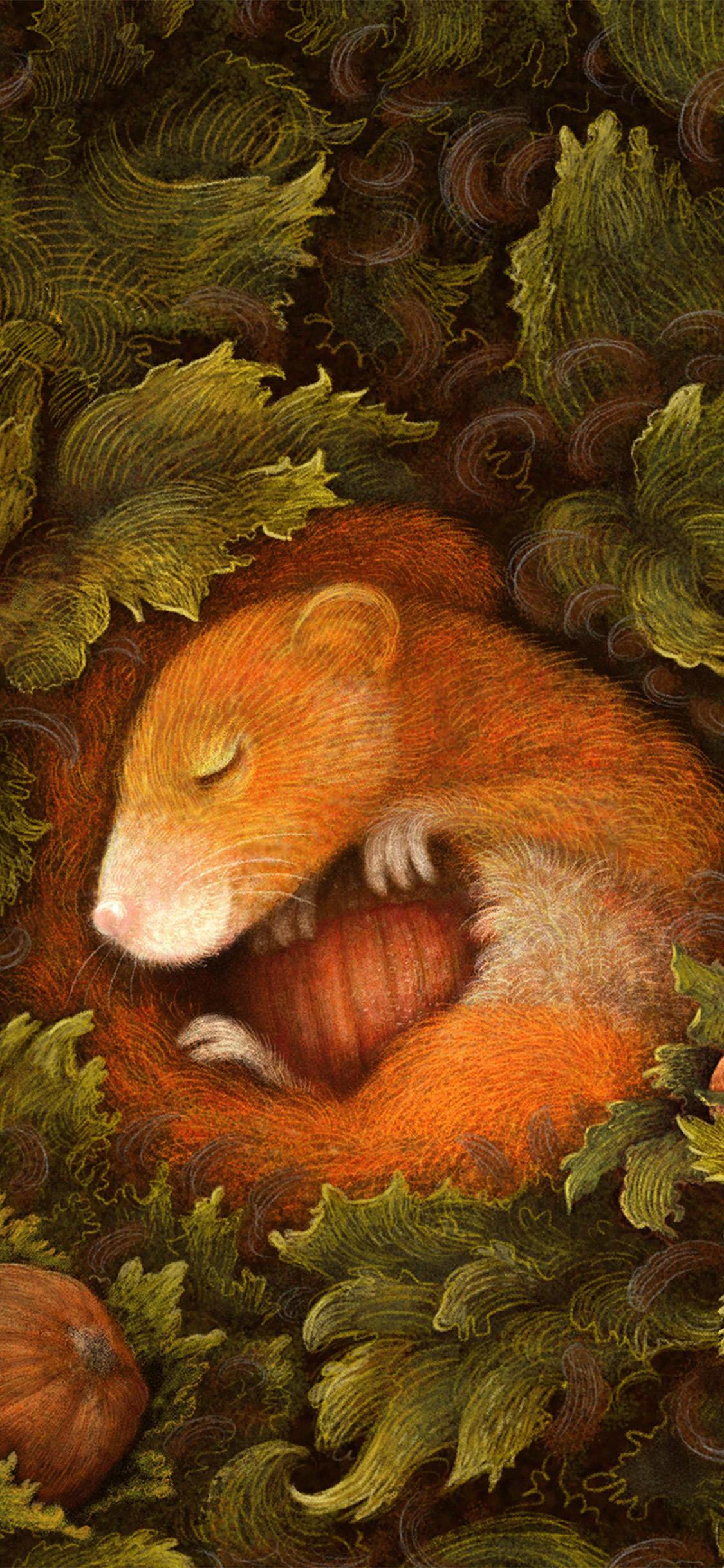 iPhonexpapers.com-Apple-iPhone-wallpaper-bf93-cute-squirrel-art-animal-illustration-anime