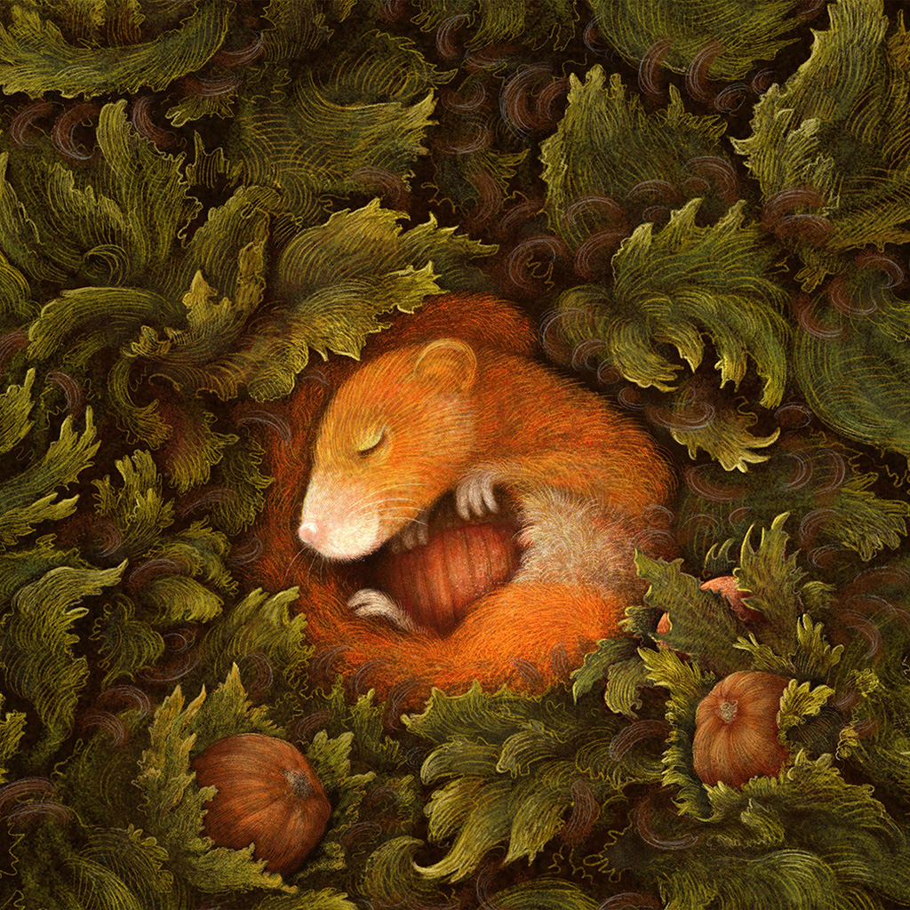 wallpaper-bf93-cute-squirrel-art-animal-illustration-anime-wallpaper