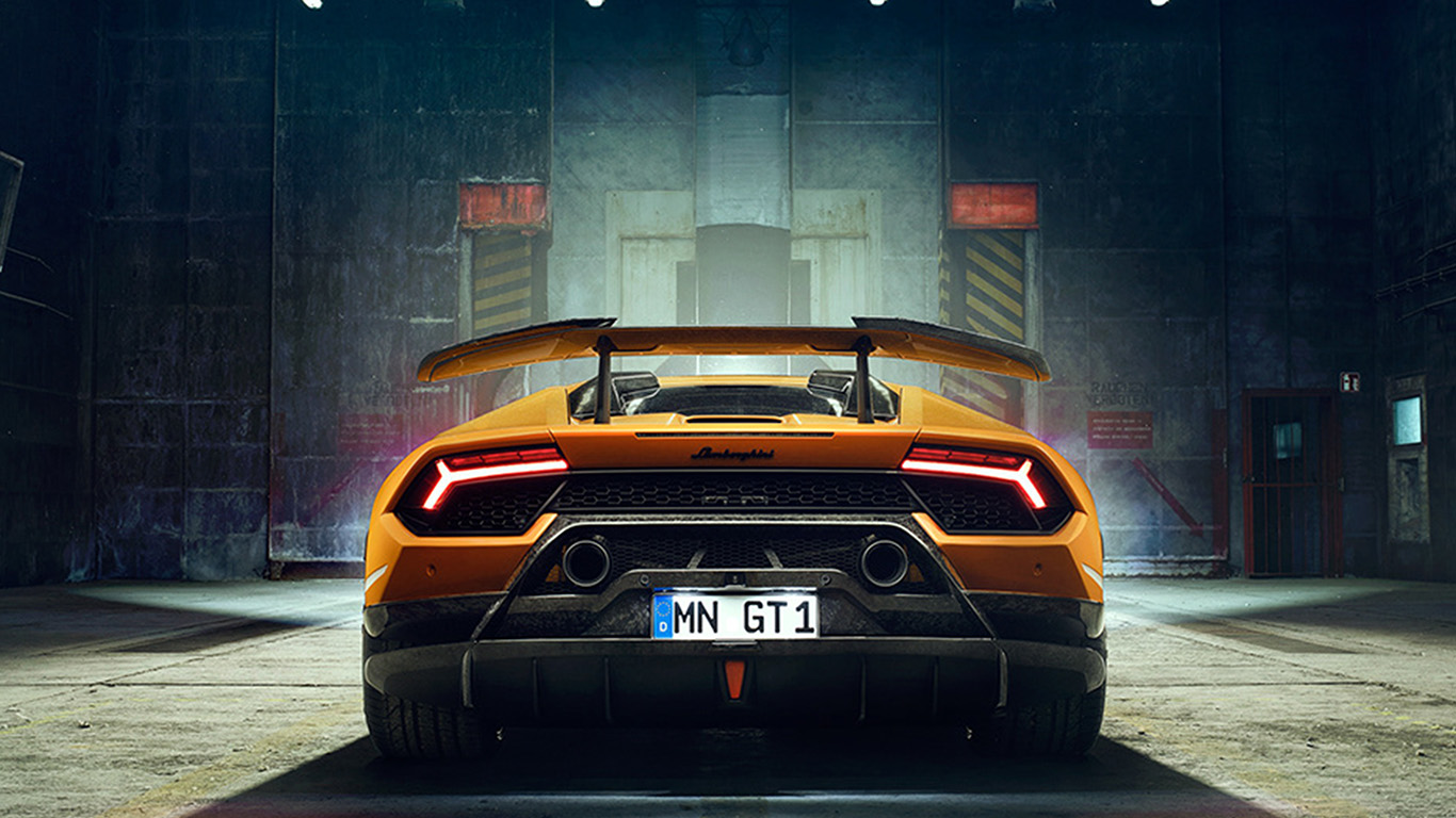 Wallpaper For Desktop Laptop Bg24 Car Lamborghini Yellow Art