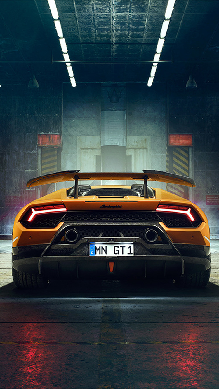 Iphone7papers Com Iphone7 Wallpaper Bg24 Car Lamborghini Yellow Art