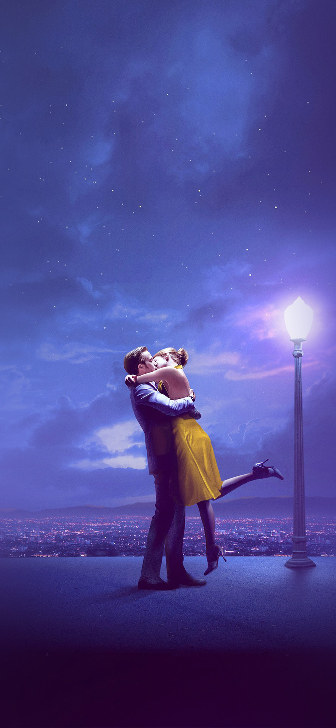 iPhonexpapers.com-Apple-iPhone-wallpaper-bg30-lalaland-film-kiss-blue-art