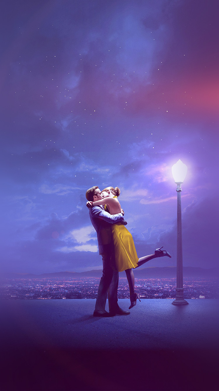 iPhonepapers.com-Apple-iPhone-wallpaper-bg31-lalaland-film-kiss-blue-art-flare