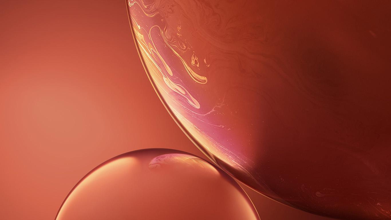 desktop-wallpaper-laptop-mac-macbook-air-bg34-apple-iphone-xs-red-official-art-orange-bubble-wallpaper