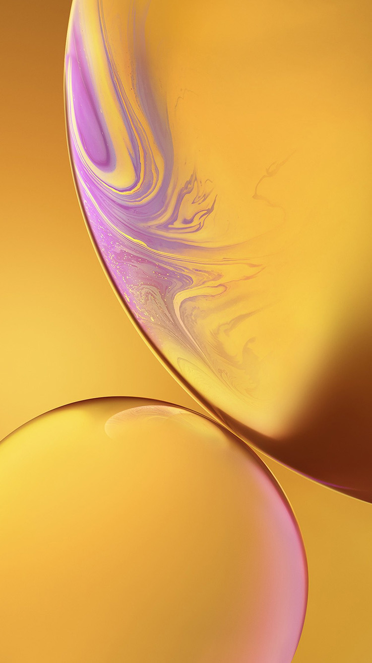 iPhone7papers.com-Apple-iPhone7-iphone7plus-wallpaper-bg35-iphone-xs-max-apple-official-art-yellow-bubble