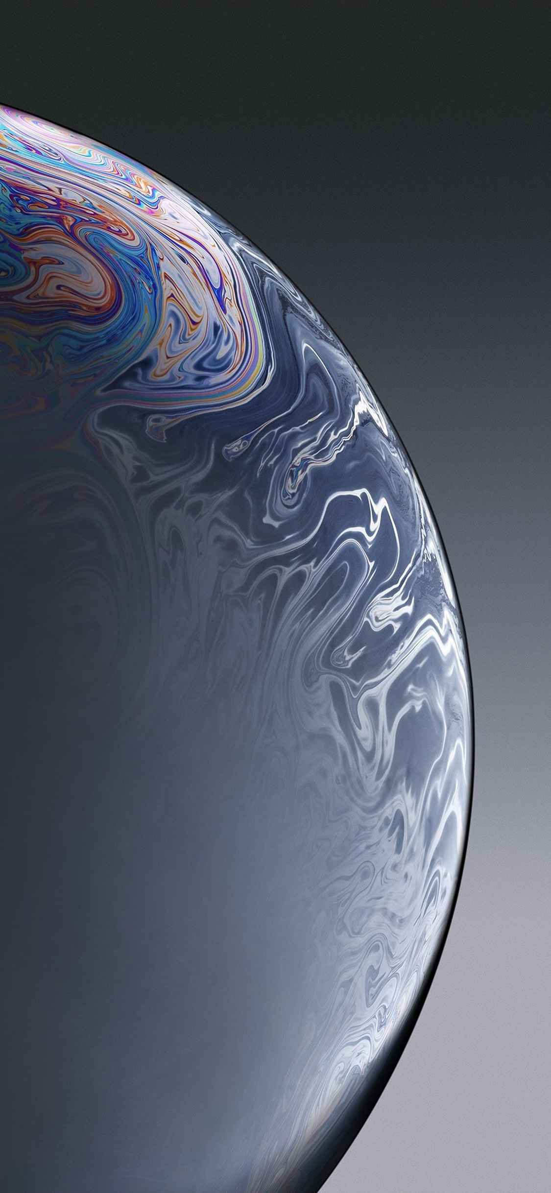 iPhonexpapers.com-Apple-iPhone-wallpaper-bg38-apple-iphone-xs-space-official-art-gray-bubble