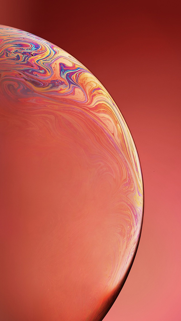 iPhone6papers.co-Apple-iPhone-6-iphone6-plus-wallpaper-bg39-apple-iphone-xs-space-official-art-orange-bubble