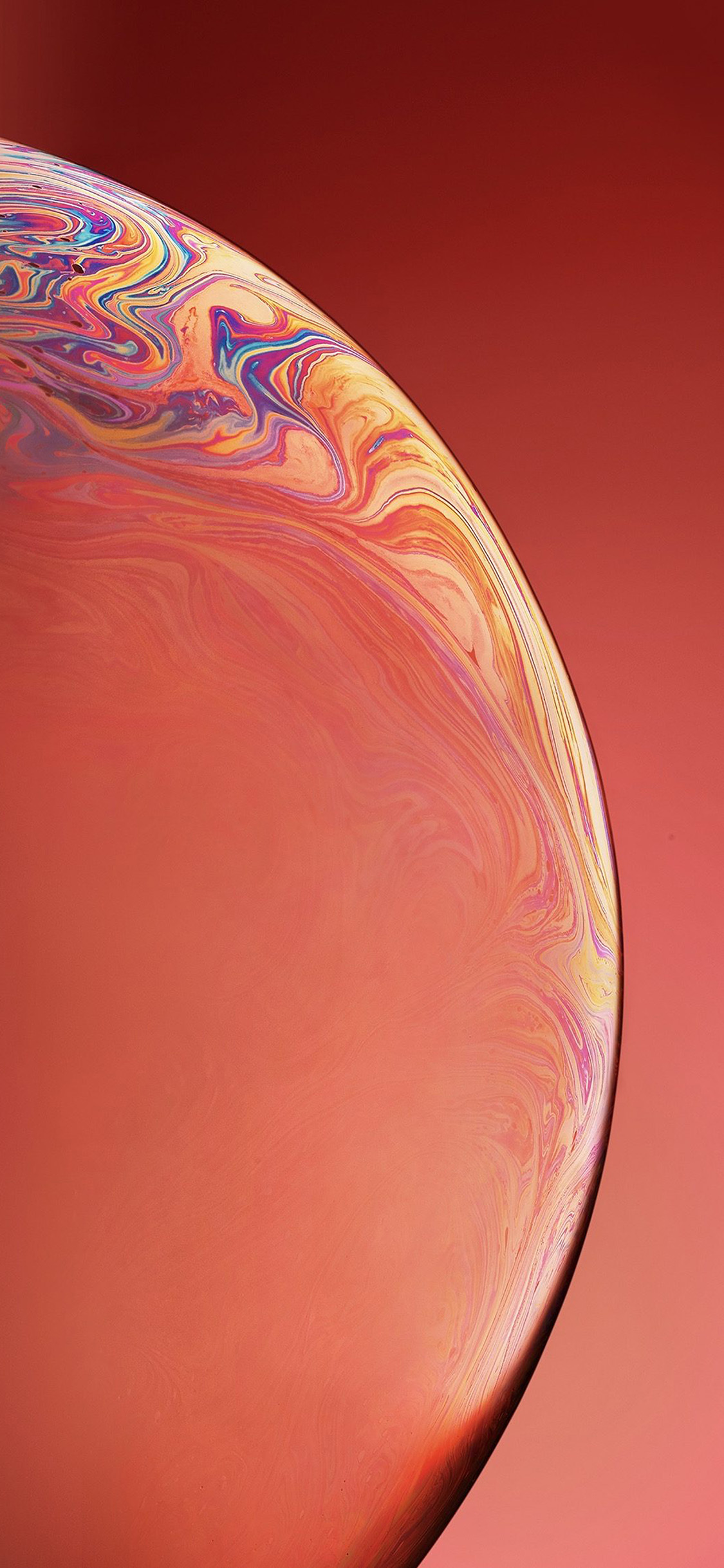 iPhonexpapers.com-Apple-iPhone-wallpaper-bg39-apple-iphone-xs-space-official-art-orange-bubble
