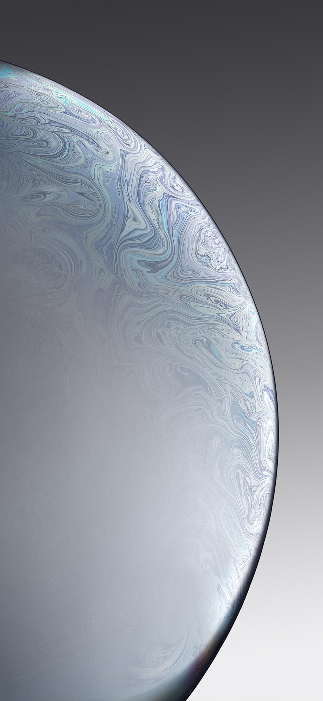 iPhonexpapers.com-Apple-iPhone-wallpaper-bg40-apple-iphone-xs-space-official-art-gray-white-bubble