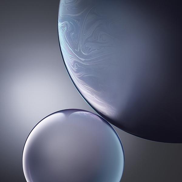 iPapers.co-Apple-iPhone-iPad-Macbook-iMac-wallpaper-bg44-gray-apple-iphone-xs-max-official-art-bubble-wallpaper