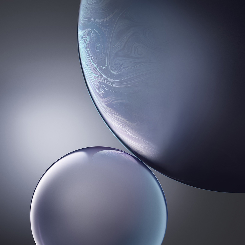 wallpaper-bg44-gray-apple-iphone-xs-max-official-art-bubble-wallpaper