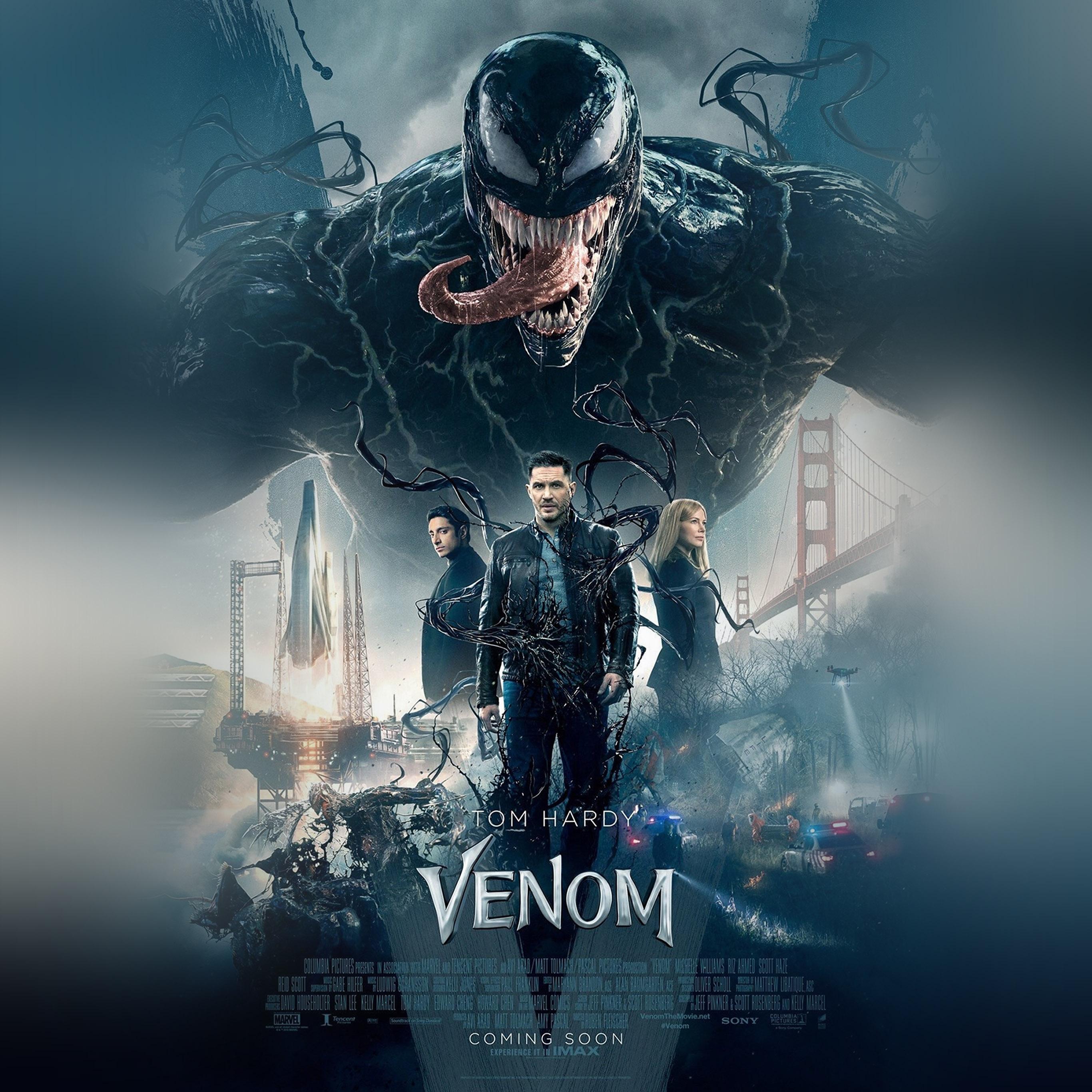 Bg47 Venom Marvel Tomhardy Film Hero Art Wallpaper