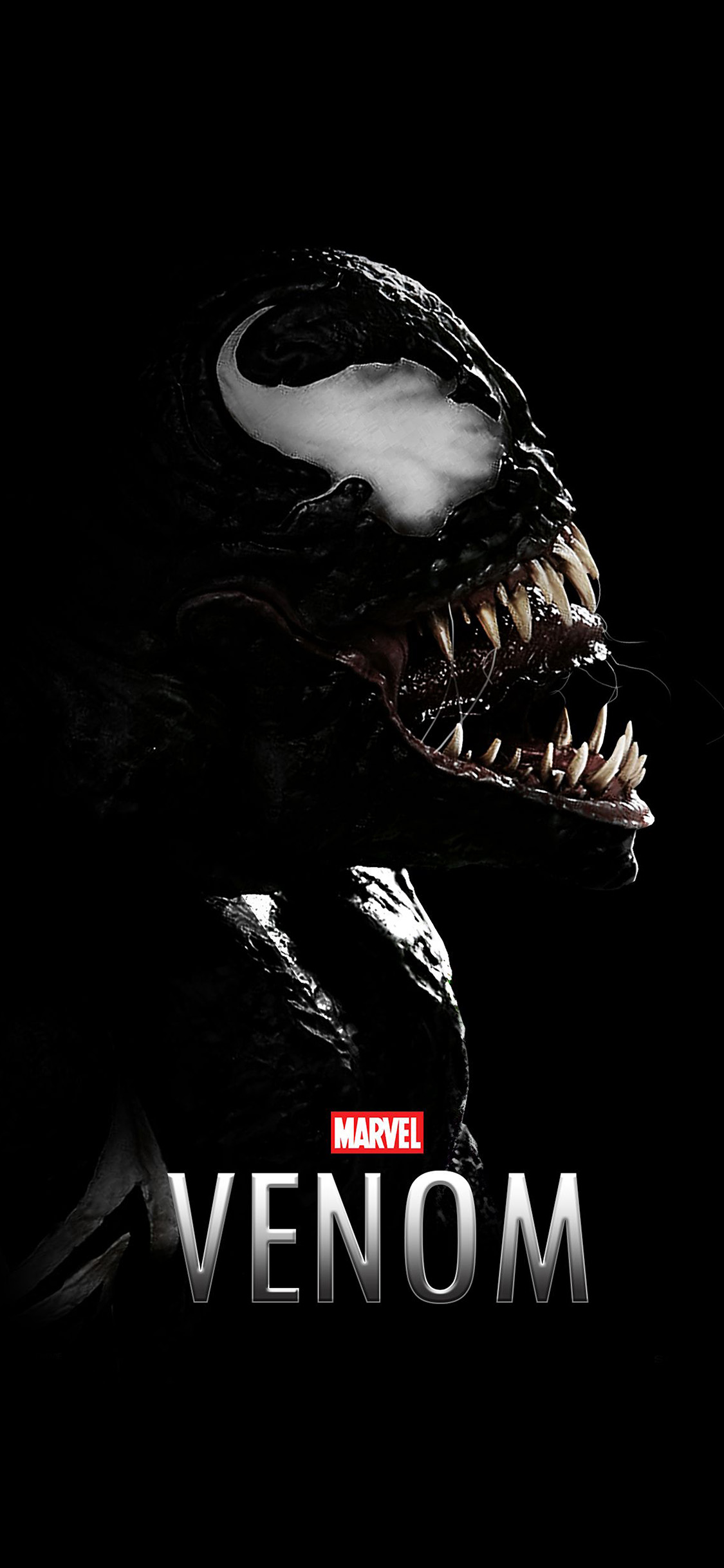 iPhonexpapers.com-Apple-iPhone-wallpaper-bg49-venom-dark-marvel-hero-dark-logo-art