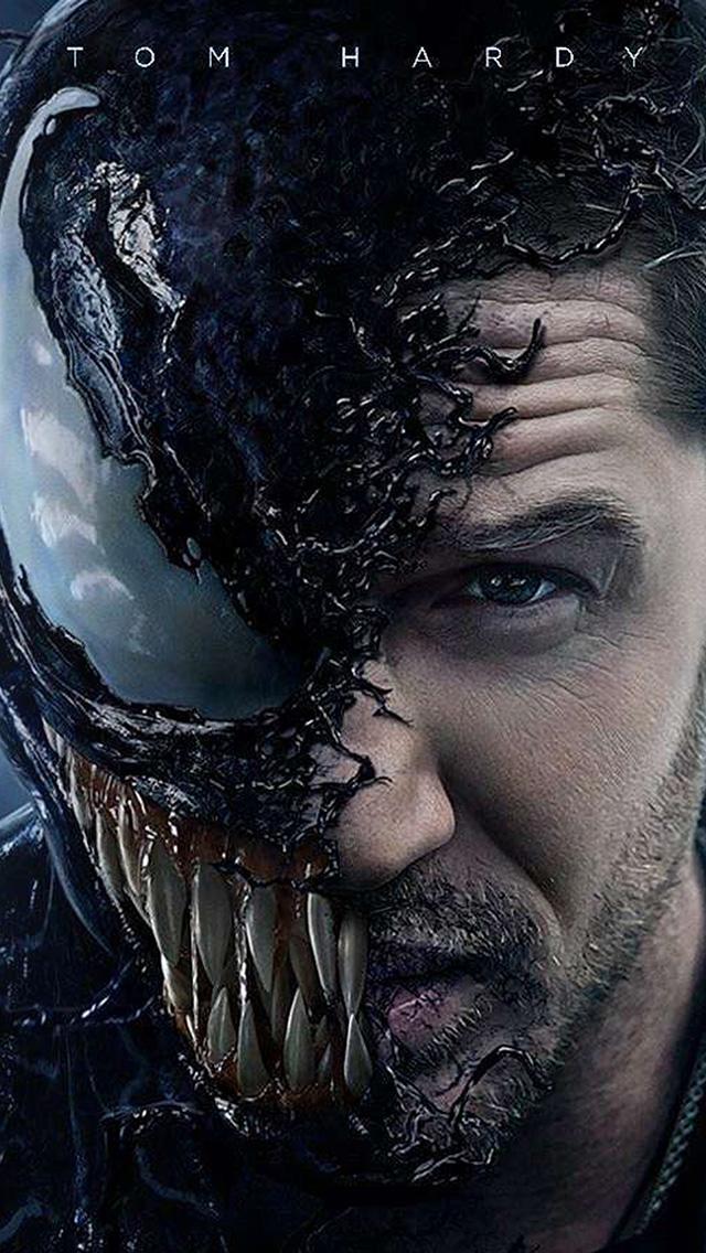 freeios8.com-iphone-4-5-6-plus-ipad-ios8-bg51-venom-dark-poster-film-marvel-hero-art