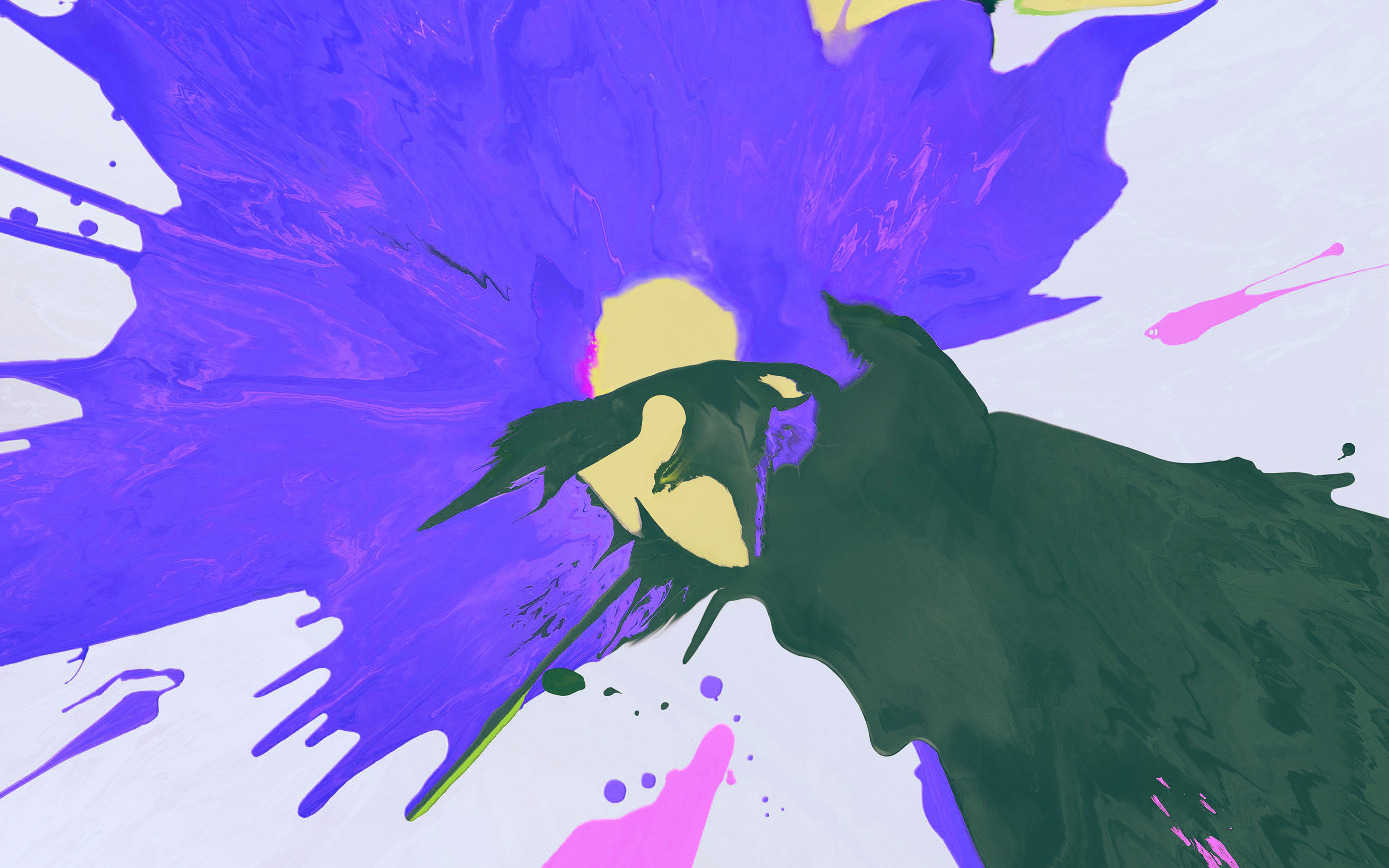 papers.co bg66 apple ipad pro new paint color art blue 36 3840x2400 4k wallpaper