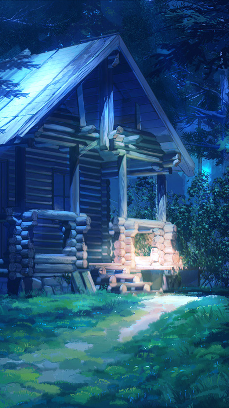 iPhonepapers.com-Apple-iPhone-wallpaper-bg74-arseniy-chebynkin-house-wood-illust-art