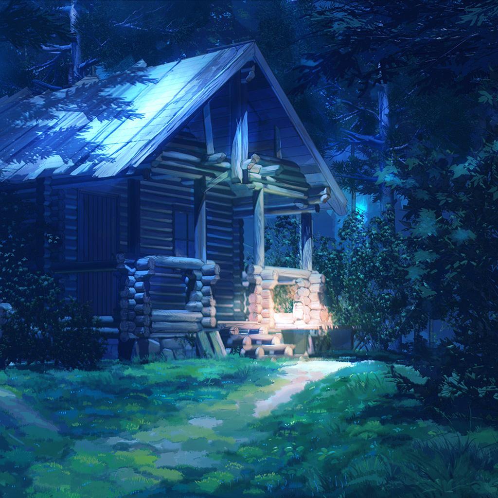 wallpaper-bg74-arseniy-chebynkin-house-wood-illust-art-wallpaper