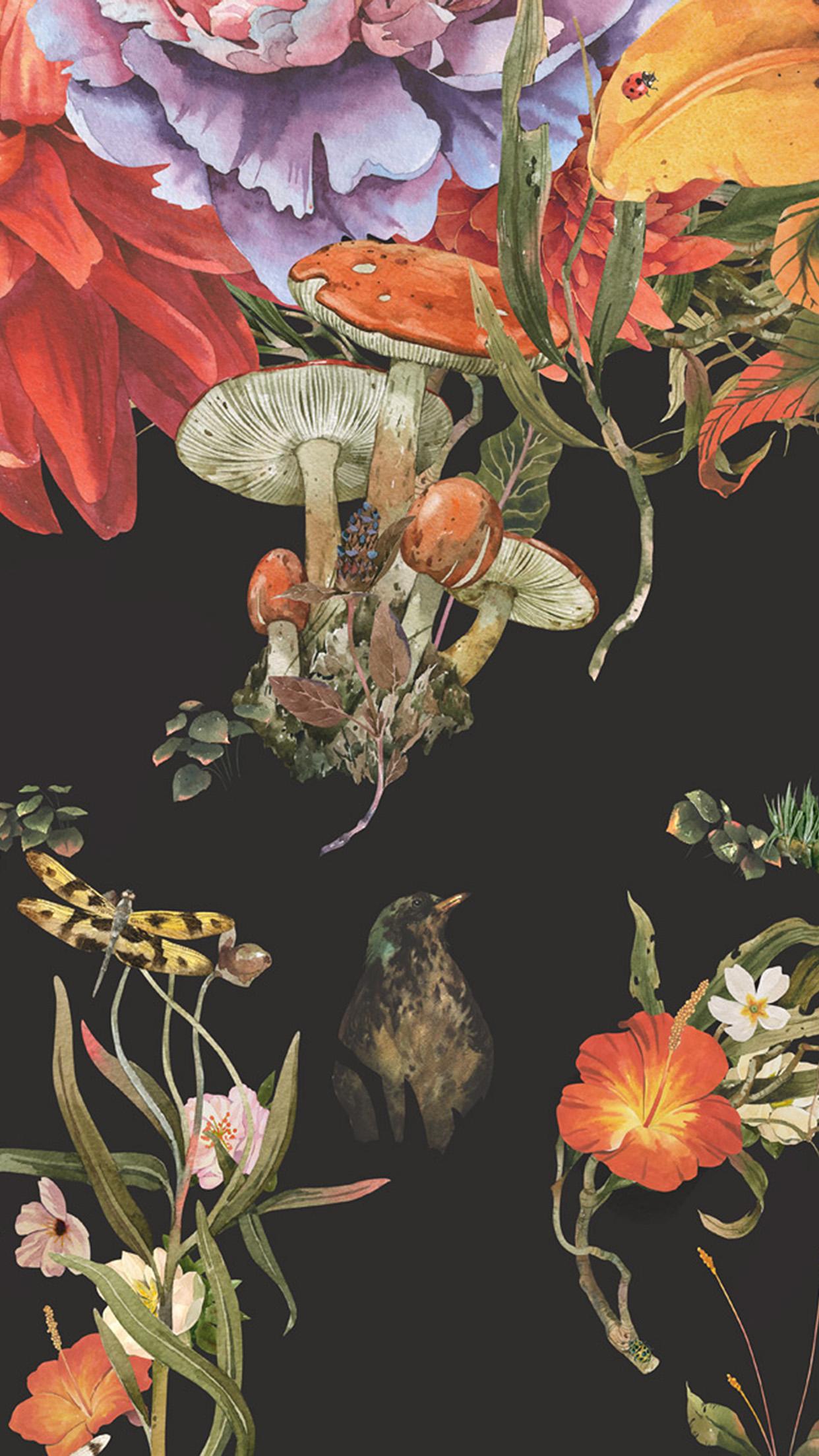bg76-flower-drawing-illust-paint-art