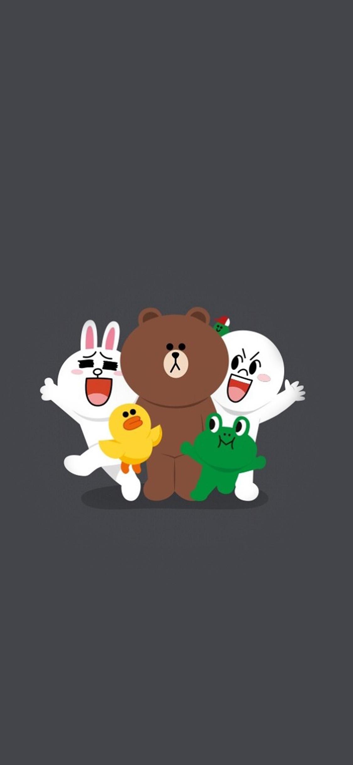 iPhonexpapers.com-Apple-iPhone-wallpaper-bh18-line-friends-chracter-cute-art-anime