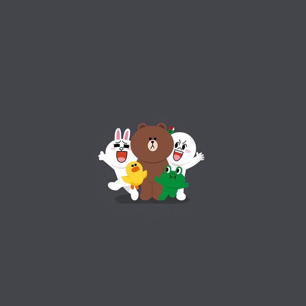 wallpaper-bh18-line-friends-chracter-cute-art-anime-wallpaper