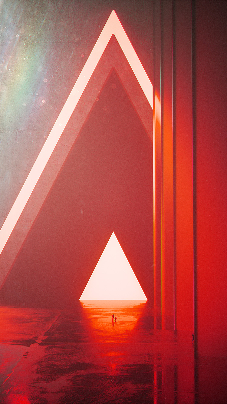 iPhone7papers.com-Apple-iPhone7-iphone7plus-wallpaper-bh21-triangle-digital-light-red-art