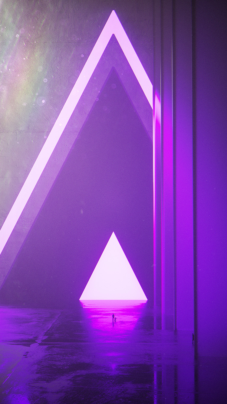 iPhone7papers.com-Apple-iPhone7-iphone7plus-wallpaper-bh22-triangle-digital-light-purple-art