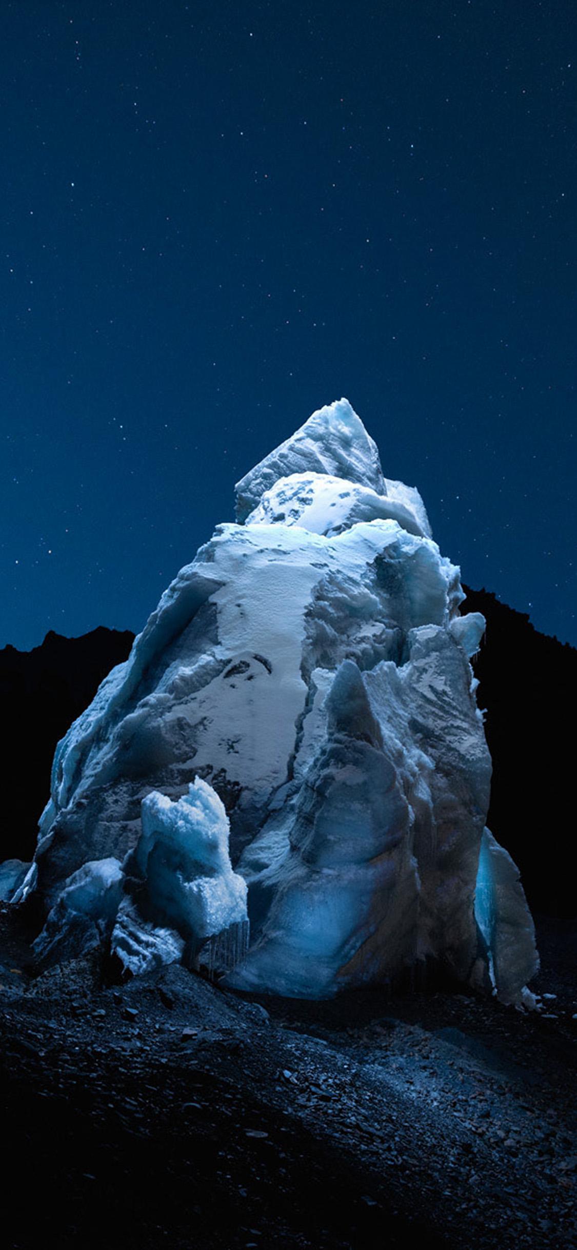iPhonexpapers.com-Apple-iPhone-wallpaper-bh38-iceberg-dark-night-sky-art