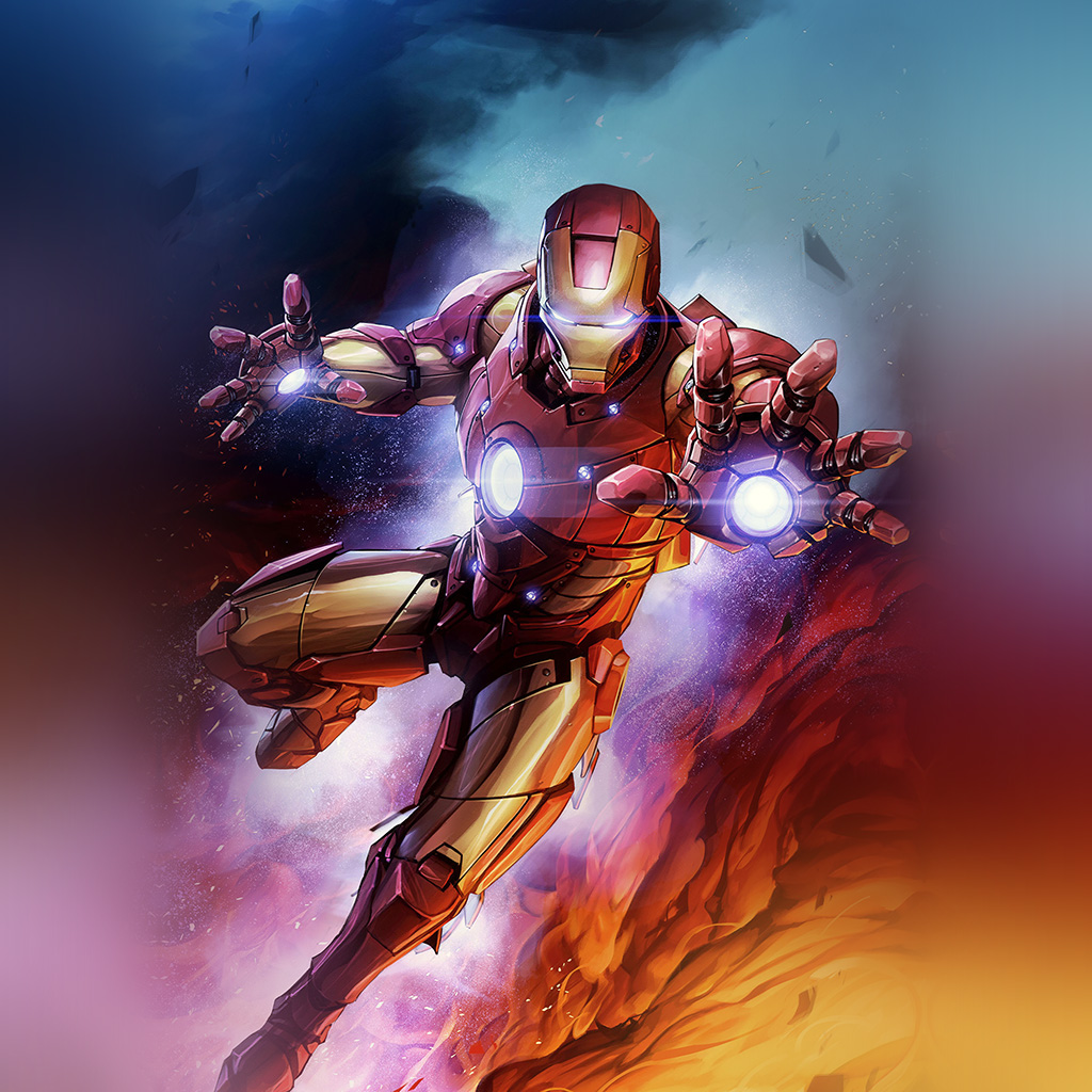 wallpaper-bh56-ironman-hero-marvel-art-wallpaper