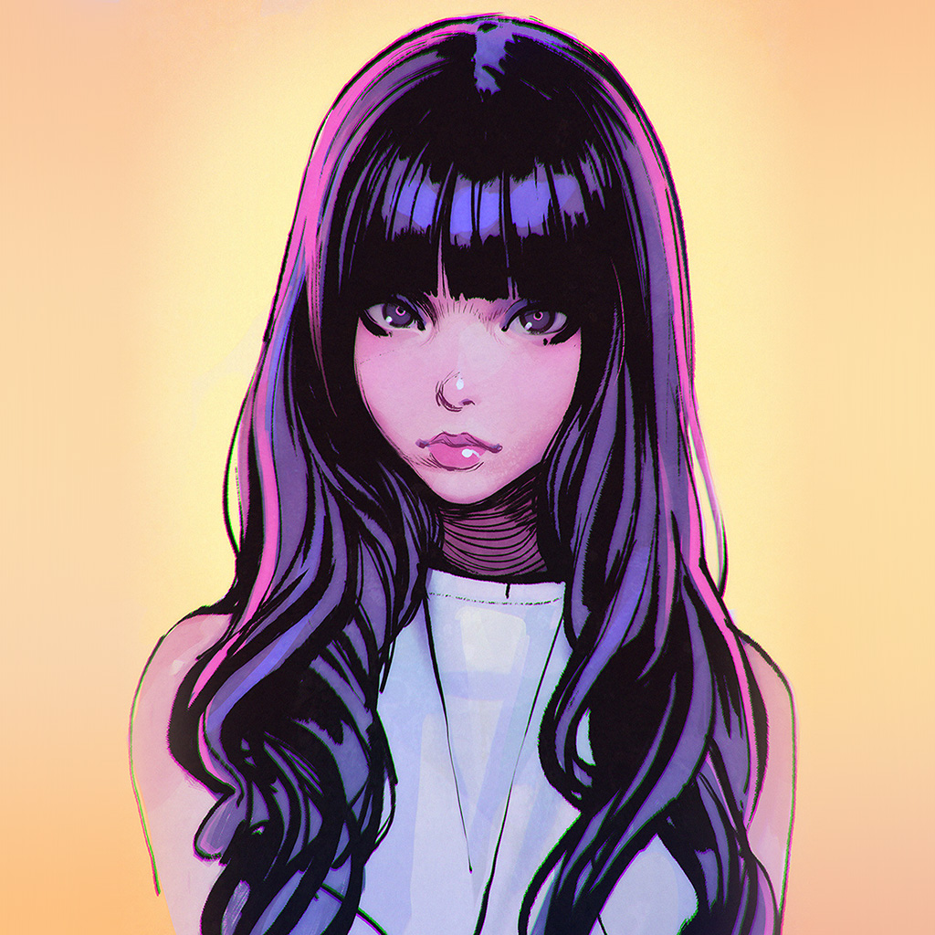 wallpaper-bh61-ilya-juvshinov-girl-purple-illust-face-art-wallpaper
