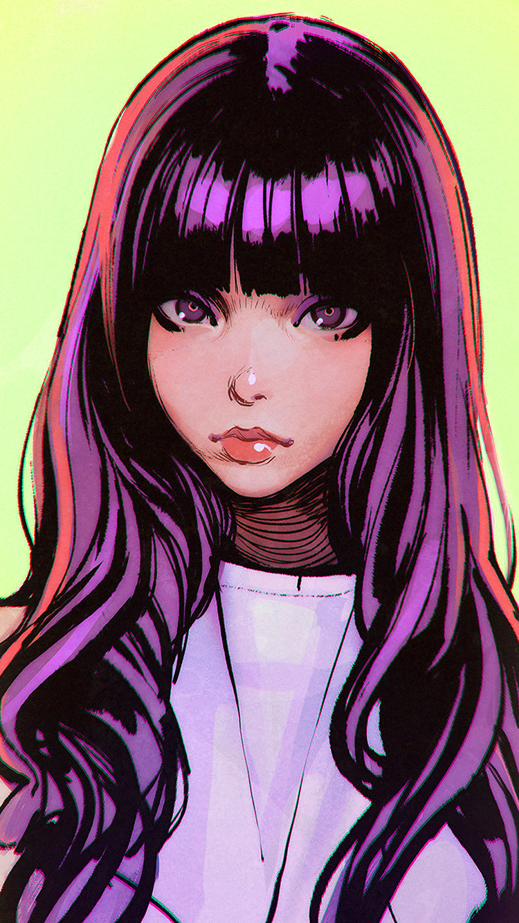 iPhone7papers.com-Apple-iPhone7-iphone7plus-wallpaper-bh62-ilya-juvshinov-girl-purple-illust-face-art-cute