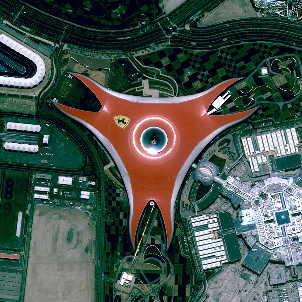 wallpaper-bh63-ferrari-building-earth-view-art-wallpaper
