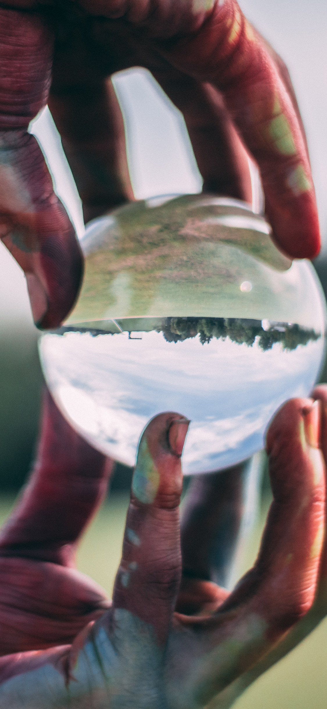 iPhonexpapers.com-Apple-iPhone-wallpaper-bh71-glass-glove-hand-art