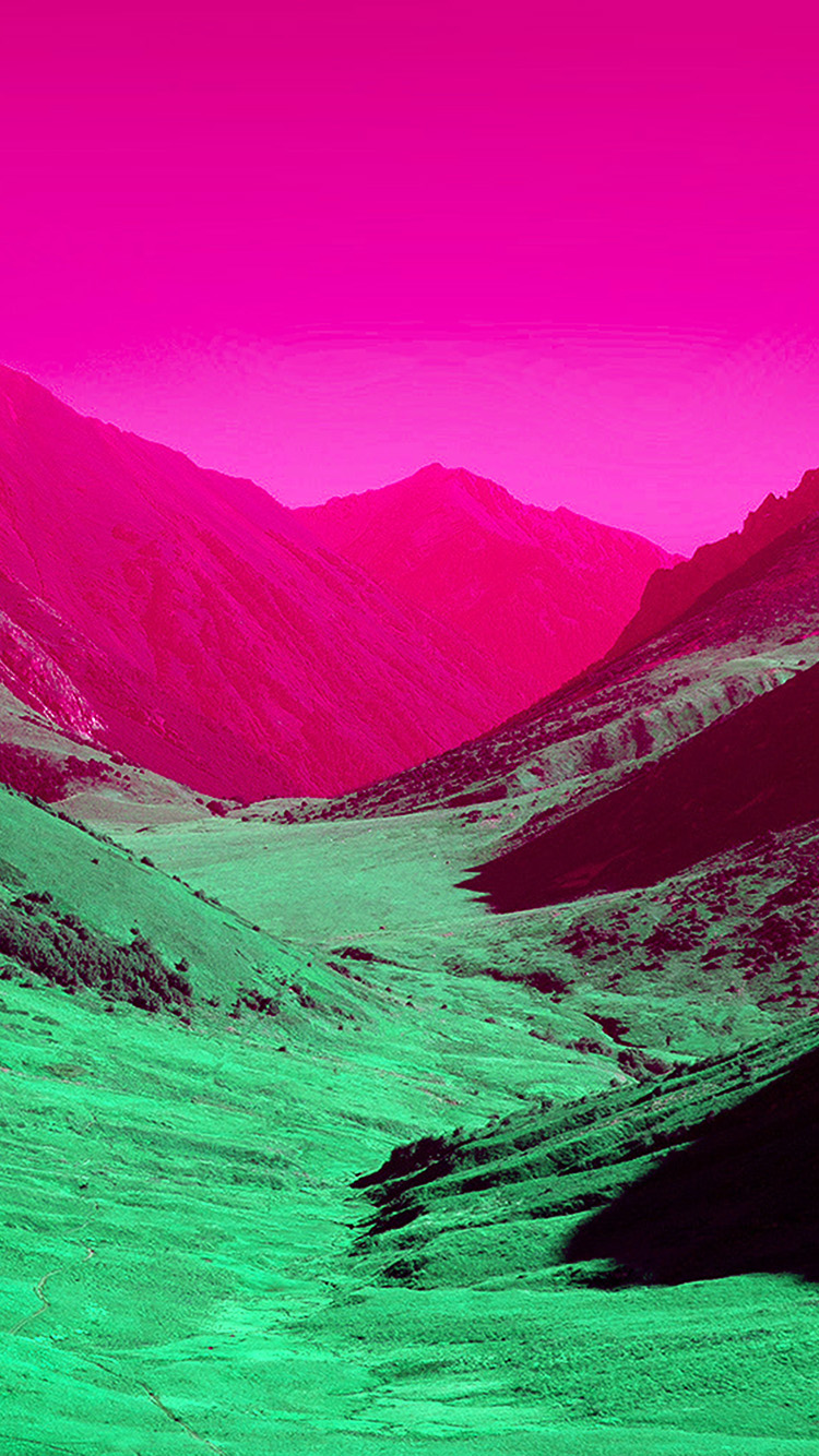 iPhone7papers.com-Apple-iPhone7-iphone7plus-wallpaper-bh92-pink-sky-mountain-art-art