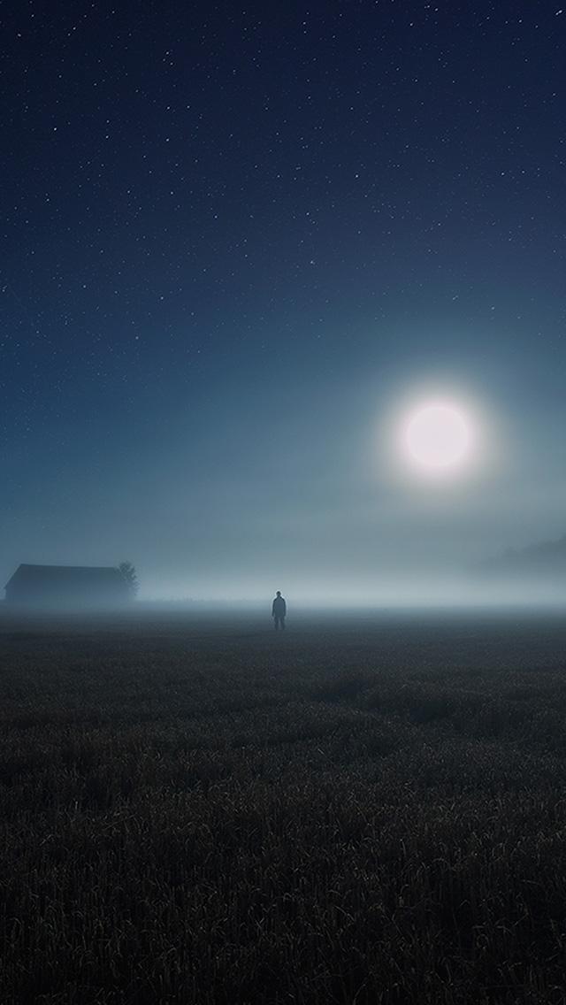 freeios8.com-iphone-4-5-6-plus-ipad-ios8-bh93-sunrise-fog-field-art